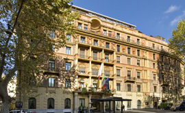 The Ambasciatori Palace hotel in Rome is acquired.