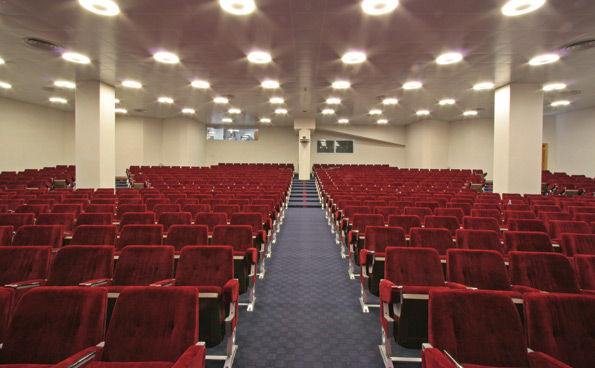 The Auditorium of the Royal Continental can accommodate up to 530 participants.