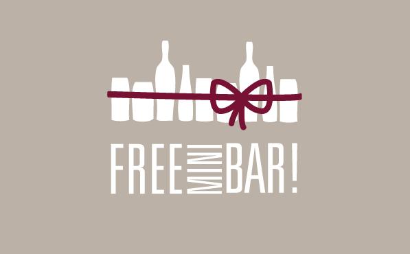 Free Mini Bar!