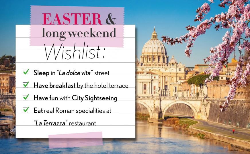 Easter & long weekend