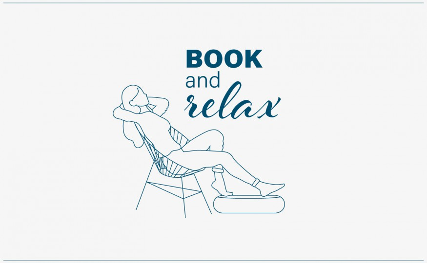 See details Book and relax