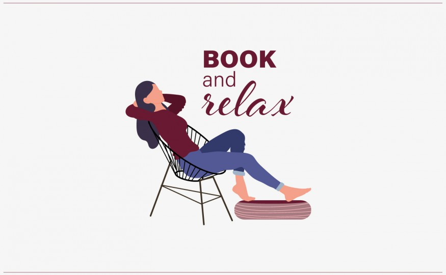 Book and relax