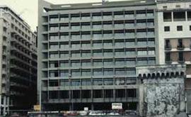 Inaugurazione dell'Hotel Continental a Napoli.