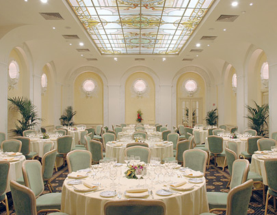 Royal Group's banquet halls in Rome.