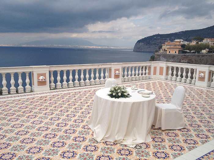Restaurant For Ceremonies In Sorrento La Residenza