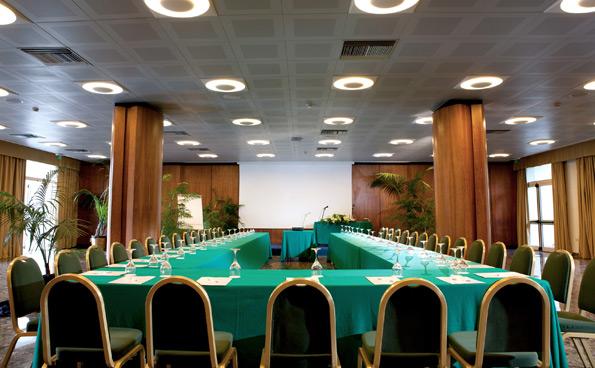 Il centro meeting de La Residenza - Parco dei Principi.