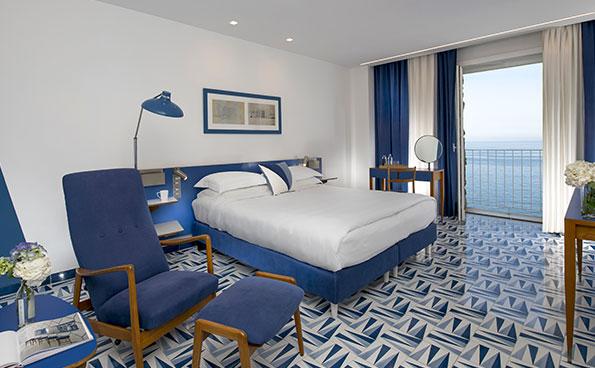 La Superior è una camera con vista sul mare di Sorrento.