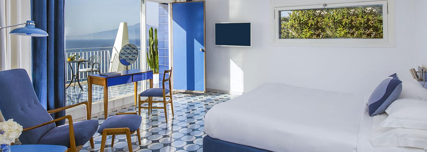 L'hotel di lusso a Sorrento progettato da Gio Ponti.