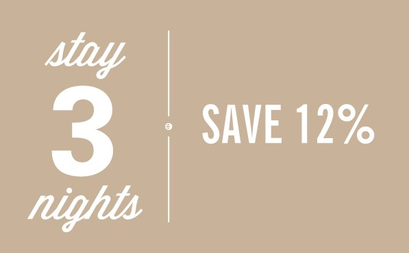 STAY 3 AND SAVE!