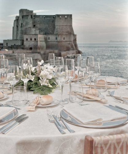 Royal Continental Hotel offers two panoramic restaurants for receptions, 'al Castello' restaurant and the wedding venue 'Ten'.